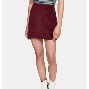 Brand New Free People Jean skirt
